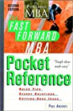 The Fast Forward MBA Pocket Reference, Paul A. Argenti, 0471145955