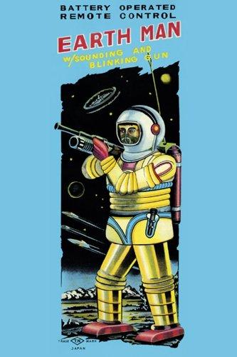 Earth Man, 12x18 Poster, Heavy Stock Semi-Gloss Paper Print