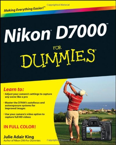 Nikon D7000 Dummies Julie Adair