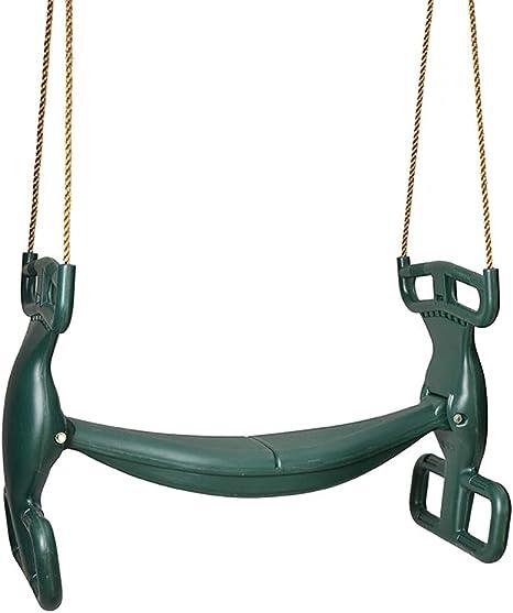 HANG Juguete de jardín/Patio de recreo para niños pequeños con Columpios Dobles para niños pequeños, Resistente a la Intemperie (Asiento Doble): Amazon.es: Deportes y aire libre