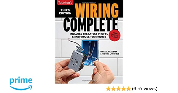wiring complete 3rd edition michael litchfield michael mcalister rh amazon com House Wiring For Dummies House Wiring Drawing Examples