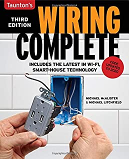 wiring complete 3rd edition michael litchfield michael mcalister rh amazon com House Wiring Drawing Examples Basic Electrical Wiring Diagrams