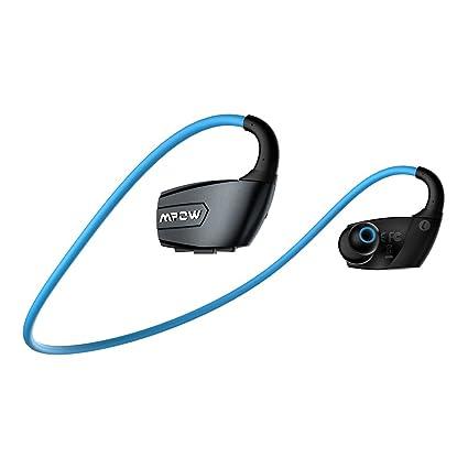 [ Versión Nueva] Mpow Auriculares Bluetooth 4.1 Auriculares Inalámbrico Deportes, Incorporado Micrófono Apoyo Llamadas