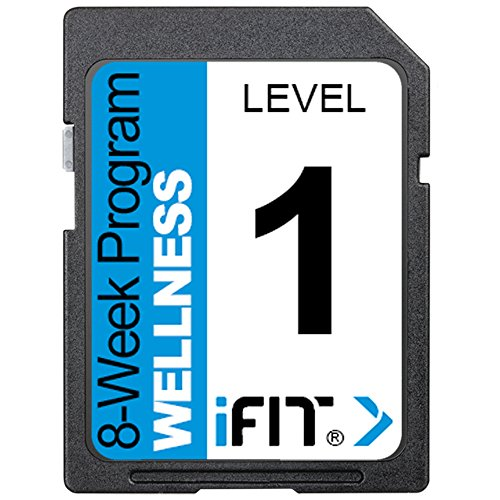 (iFIT Exercise Workout SD Card - 8-Week 'Wellness' Program Level)