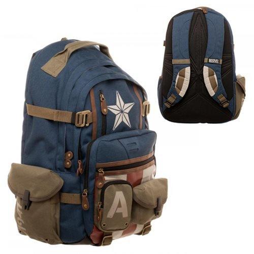 Marvel Captain America Built with Herringbone Backpack from Marvel