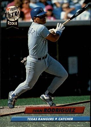Amazoncom 1992 Ultra Baseball Card 139 Ivan Rodriguez Mint