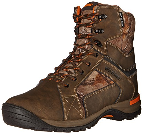 200g Insulated Hunting Boots - Wolverine Men's Sightline High Boot, Natural/Real, 11.5 M US