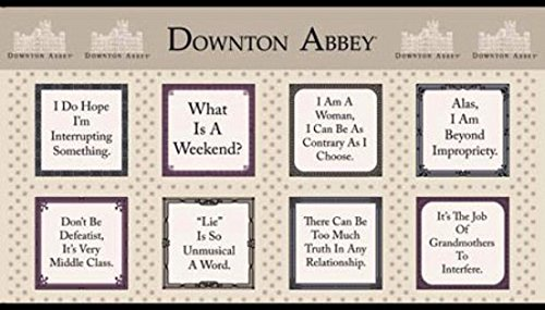 Downton Abbey Fabric Countess Quotes Andover Fabrics by The ()