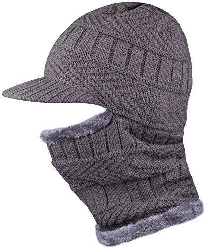 WDSKY Visor Fleece Winter Balaclava Snowmobile Headgear Cold Weather Face Mask (Snowmobile Fleece)