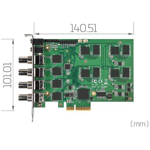 Yuan SC542N4 SDI - 4 Input HD SDI Capture Card