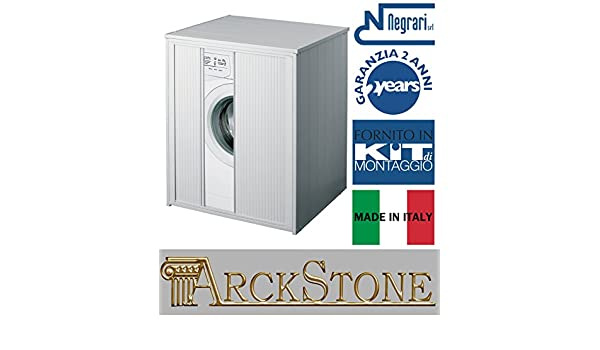 Negrari Armario protector lavadora secadora puerta corredera ...