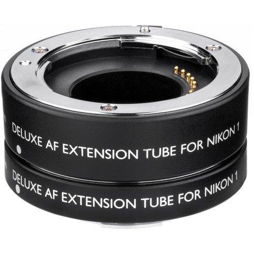 Vello Deluxe Auto Focus Extension Tube Set for Nikon 1 Mount by Vello