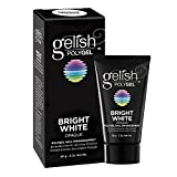 Gelish PolyGel Nail Enhancement Bright White Opaque Shade, 2 Ounces
