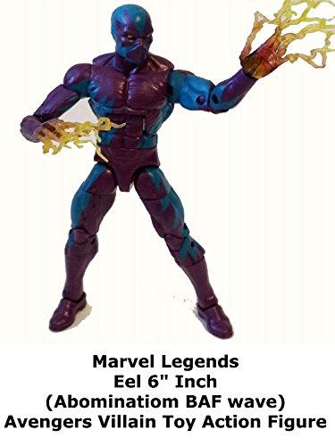 Review: Marvel Legends Eel 6