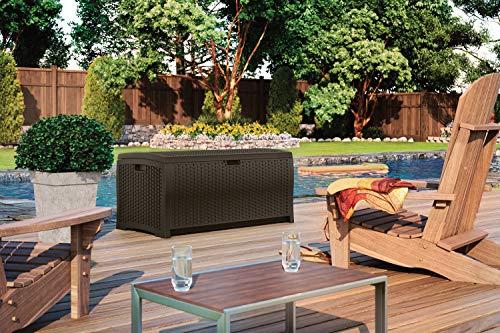Suncast 73 Gallon Deck Box Review DBW7300