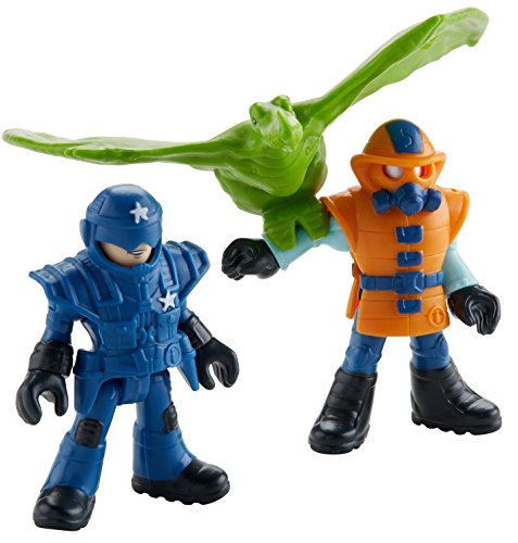 Fisher-Price Imaginext Jurassic World, Park Workers & Pterodactyl
