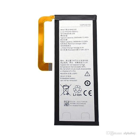 GADGETBUL 3500mAh Mobile Battery for Lenovo ZUK Z2 Plus Z2+ BL268 Mobile Phone Batteries