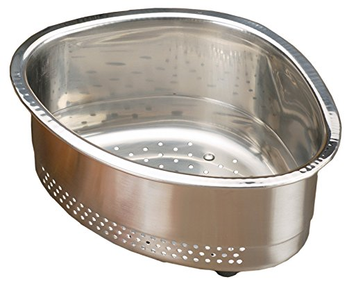 (RSVP Endurance Stainless Steel In-Sink Corner Basket)