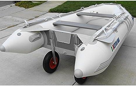Amazon.com: Inflatable Boat Transom Rueda de lanzamiento ...