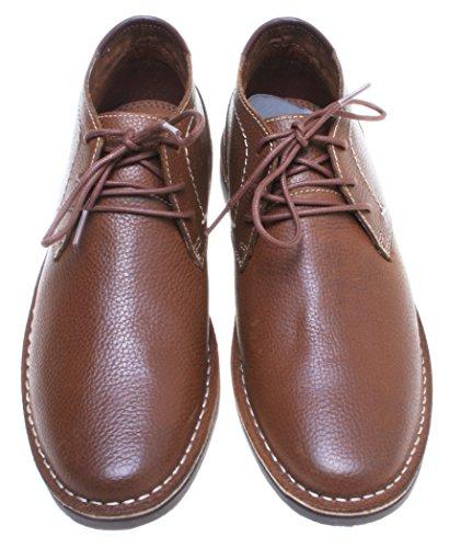 Kenneth Cole Desert Leather Chukka Boots; Bruin (13 Medium Us)