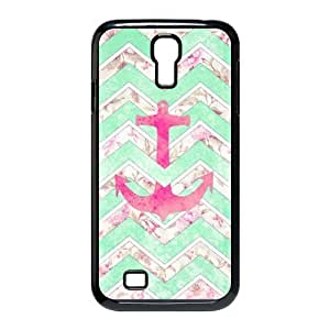 LZHCASE Anchor Chevron Diy Case Shell Cover For Samsung Galaxy S4 i9500 [Pattern-1]