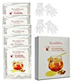 #4: Scuddles 5 Pairs Of Exfoliating Hand Mask Gloves, Nourishing And Soothing For Chap Skin Winter Dry Callus