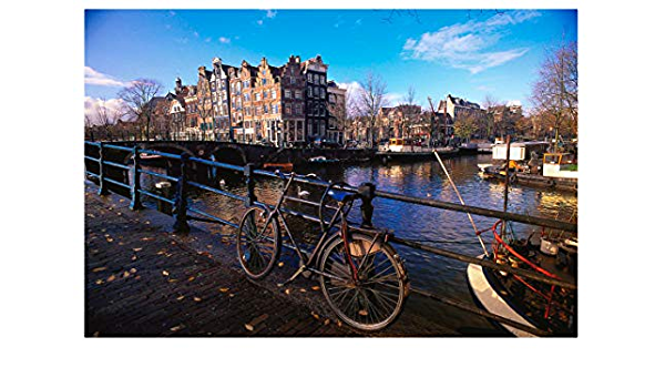 Rompecabezas 1000 Piezas Para Adultos Amsterdam, Holanda Ocio ...