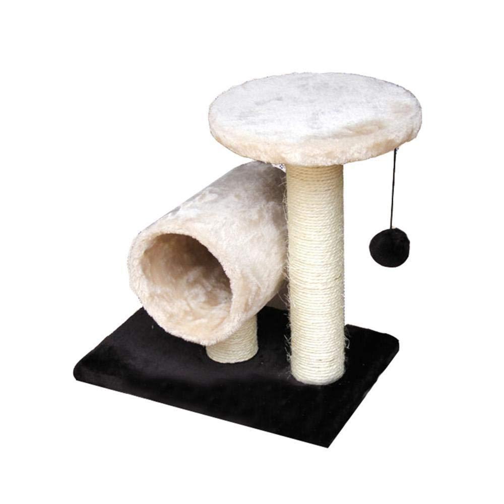 Aoligei Alberi tiragraffi per Gatti Lettiera per Gatto Gatto Giocattolo sisal Cat Scratch Board Cat Scratch Pad Cat Jumping Cat Forniture 37  24  37 cm