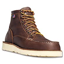 "Danner Men's Bull Run Moc Toe 6"" Cristy Steel Toe Boot"