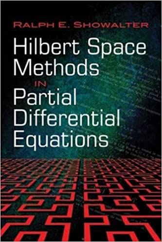 Hilbert space methods in partial differential equations dover hilbert space methods in partial differential equations dover books on mathematics ralph e showalter 9780486474434 amazon books fandeluxe Gallery