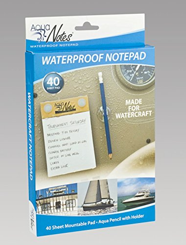 Animewild Aqua Boat Notes Waterproof Notepad
