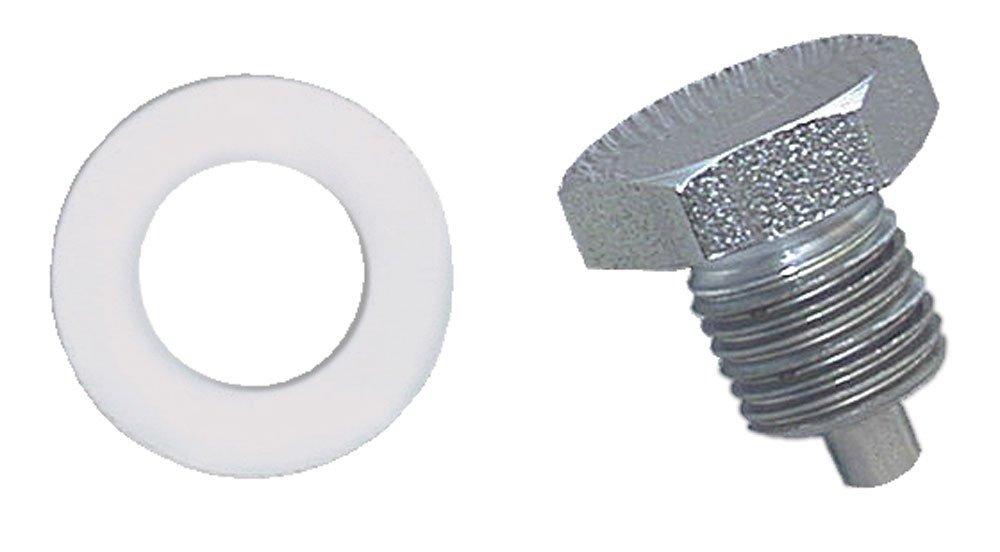 Moroso 97001 Clear Zinc Oil Pan Drain Plug
