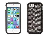 iPhone 5/5s, iPhone SE Protective Case, Black Harris Tweed Identity