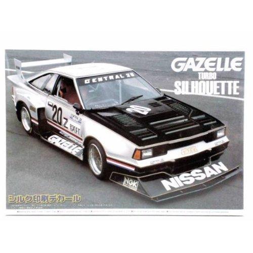 Aoshima Bunka Kyozai 1/24 El turbo silueta mejor coche No.65 de la vendimia Gazeru: Amazon.es: Juguetes y juegos