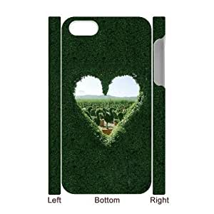 Diy Cool Red Heart Custom for iphone 4 3D Shell Phone Cover Case LIULAOSHI(TM) [Pattern-5] by runtopwell
