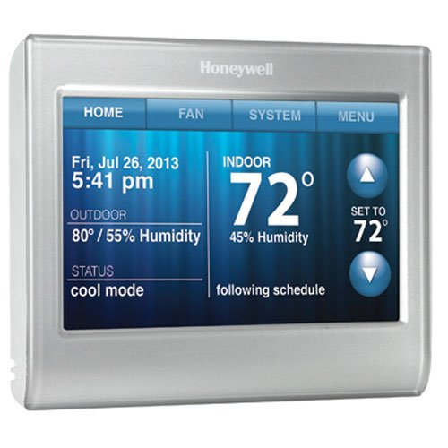 Honeywell Smart Thermostat, Wi-Fi, Touchscreen, Works with Amazon Alexa (Smart Service Tool compare prices)