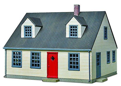 Walthers Cornerstone Cape Cod House Cape Cod House Kit