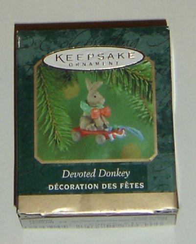 Hallmark Keepsake Miniature Ornament Devoted Donkey