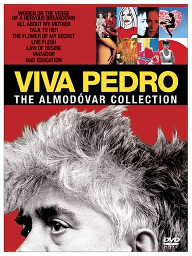 Viva Pedro: The Almodovar Collection (Talk to Her/ Bad Education/ All about My Mother/ Women on the Verge of a Nervous Breakdown/ Live Flesh/ Flower of My Secret / Matador / Law of Desire) by Sony Pictures Home Entertainment
