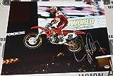 Jeremy McGrath Signed 16x20 Photo COA Motocross Supercross #2 Autograph - PSA/DNA Certified - Autographed Extreme Sports Photos
