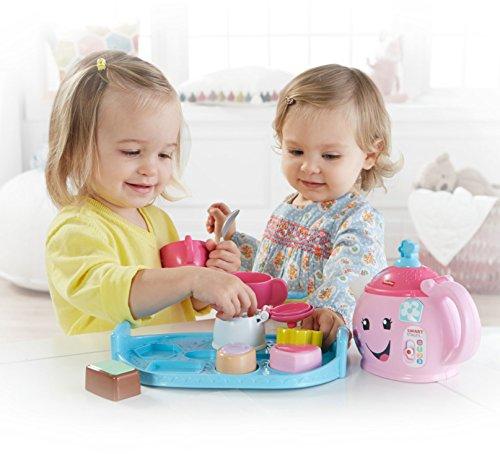 51F9WlJKmJL - Fisher-Price Laugh & Learn Sweet Manners Tea Set