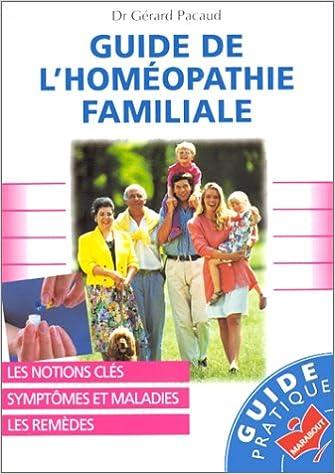 Livre gratuits GUIDE DE L'HOMEOPATHIE FAMILIALE pdf, epub ebook