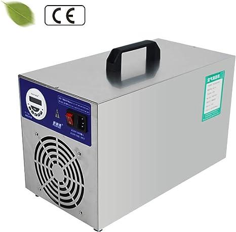 D&F Generador de Ozono Industrial 30000 MG/h con Temporizador Pantalla LCD purificador de Aire desinfección para Habitaciones, Humo, Automóviles y Mascotas: Amazon.es: Deportes y aire libre