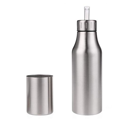 Dispensador de aceite y vinagre Aceite de acero inoxidable Aceite ...