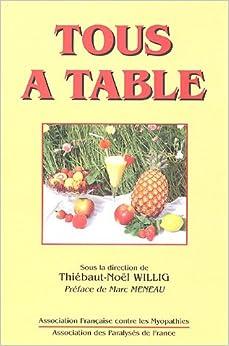 Book Tous à table : Cuisine adaptée aux difficultés d'alimentation