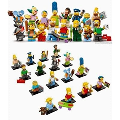 LEGO Simpson Minifigures Complete Set of 16! IN HAND! USA SELLER!: Toys & Games