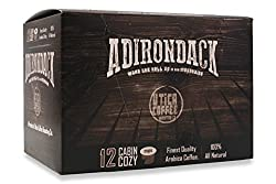 Adirondack Coffee Dark Roast Single Serve Capsules For Keurig K-Cup Brewers made by Utica Coffee Roasting Co.