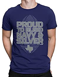 Dallas Football Fan T-Shirt, Proud To Bleed by