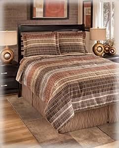Amazon Com Neutral Color 4 Piece Top Of Bed Comforter Set