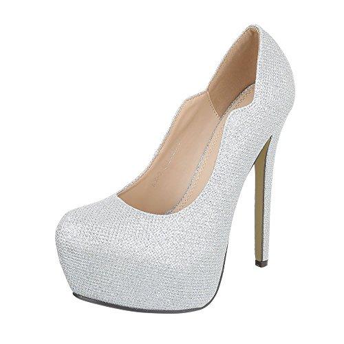 28003 Zapatos de mujer Silber AX-2-1